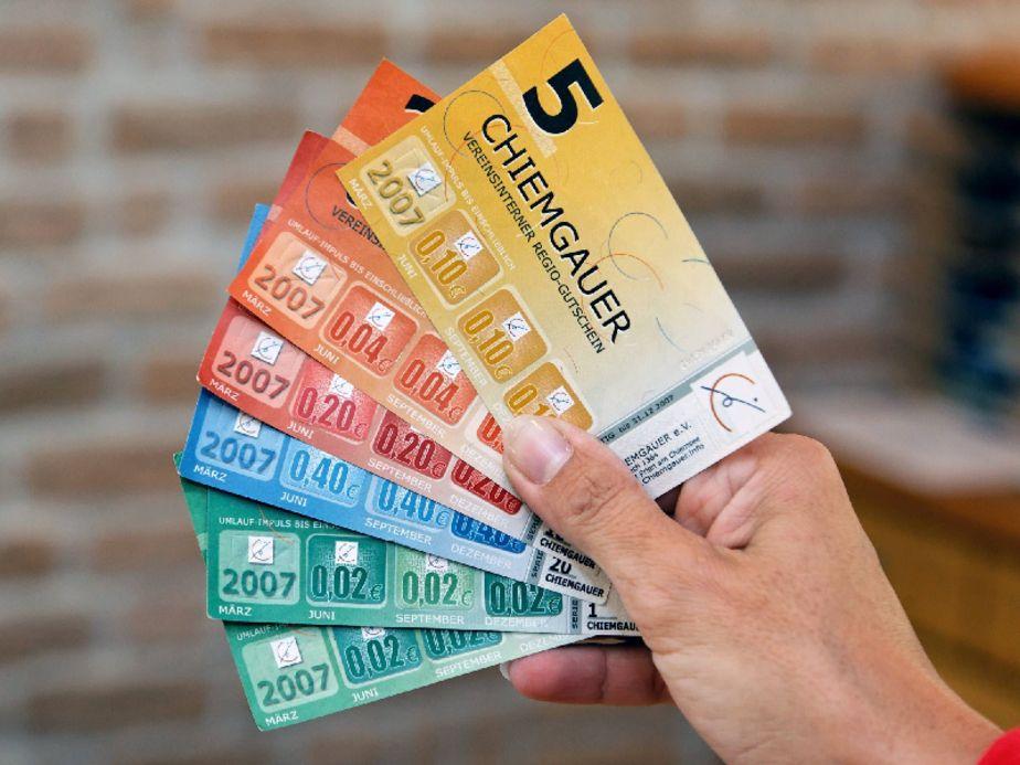 Moneda complementaria, regional y social Chiemgauer