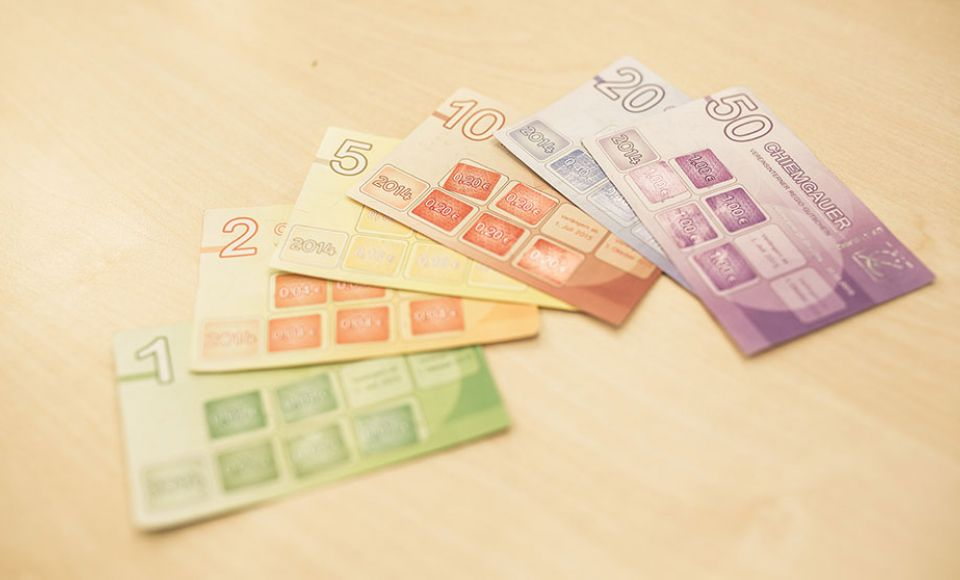 Moneda complementaria, social y regional Chiemgauer