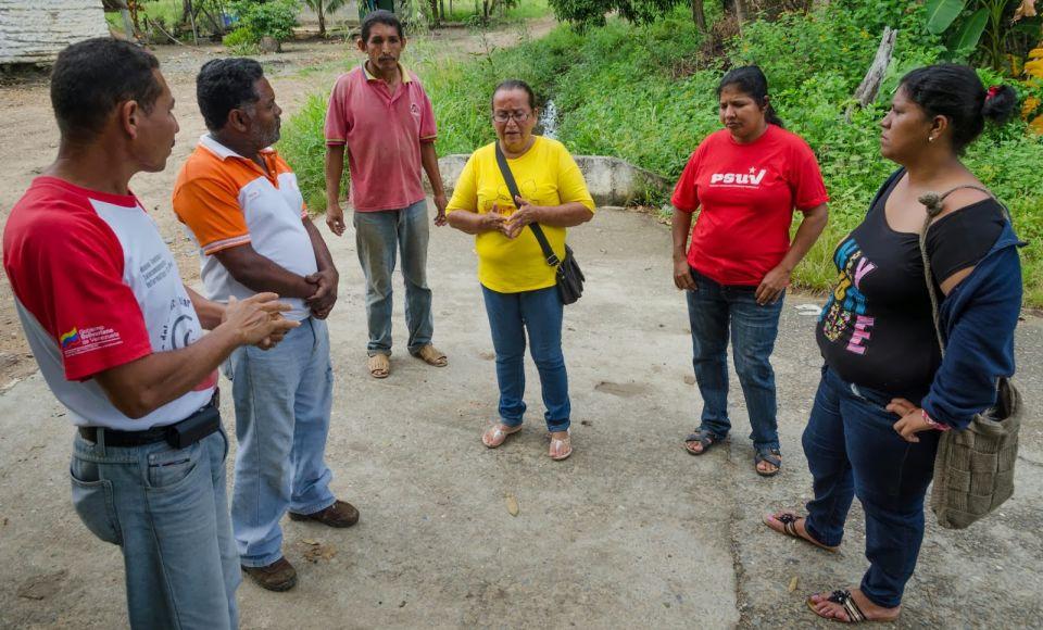 La Comuna Luisa Cáceres de Arismendi, mediante la autogestión, fortalece la economía solidaria e impulsa el trabajo liberador